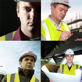 a group of 4 health and safety consultants like those at SQE Ltd